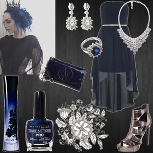 Outfit midnight queen von moonchild