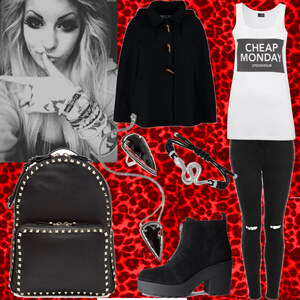 Outfit Inspiration by Murderotic von moonchild
