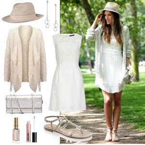 Outfit Plain white Summer von Annik
