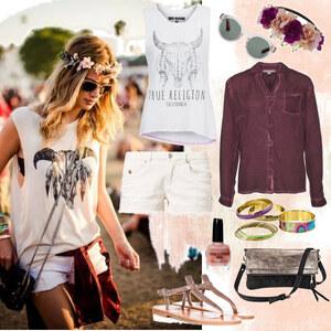 Outfit Festival Feelin` von Annik