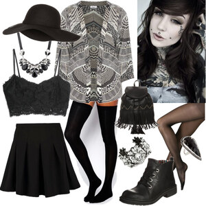 Outfit can you hear the silence von moonchild