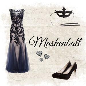 Outfit Maskenball von Katinka