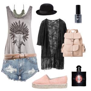 Outfit Coachella Fever von Nadja Buscher