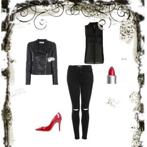 Outfit Back in Black von Lea Jo