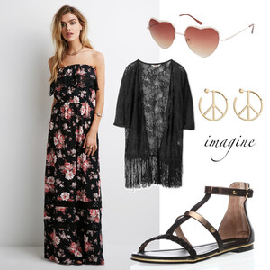 Outfit Boho Chic von domodi