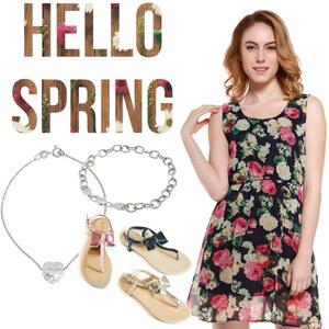 Outfit Hello Spring von Lesara