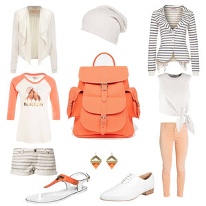 Outfit Orange Country von Vivacious