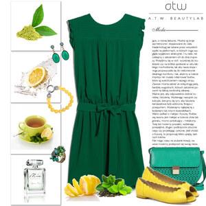 Outfit green tea von Ania Sz