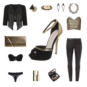 Outfit clubnight#glamour#champaign von louisa.bernard