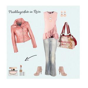 Outfit Frühlingsdate in Rosa von Babyblue