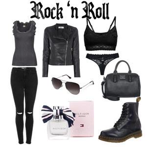 Outfit Let`s rock von Paula Lübbe