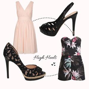 Outfit High Heels von domodi