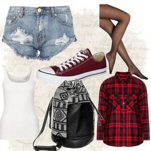 Outfit Converse Sneaker von Frabau2509