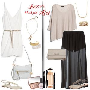 Outfit dress vs. maxi skirt von Natalie