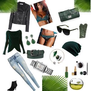 Outfit Green Emotion von Claudia Kutsche