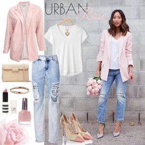 Outfit Urban Rose von Annik