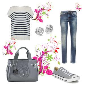 Tenue Tenue idéale avec votre sac Armani sur Armani jeans