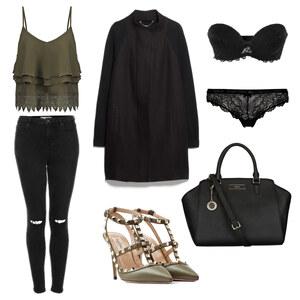 Outfit Black Greens 50s von BB Foxy