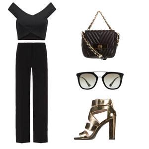Outfit Blck n Gold von BB Foxy