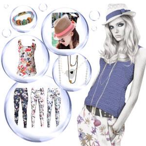 Outfit Blumig mit Hut - Lässiger Sommerstyle im Floral-Trend von Lesara