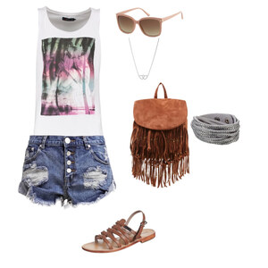 Outfit Summer on the Beach von Swantje Staacke