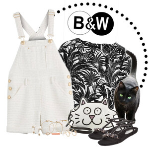 Outfit kitty cat von Ania Sz