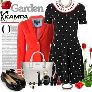 Outfit różany ogród von Ania Sz