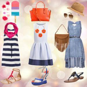 Outfit Sommerkleidervariationen von böhnchen