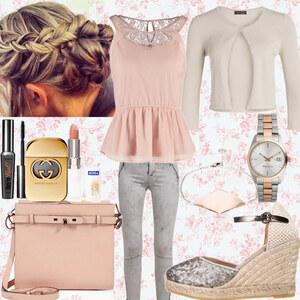 Outfit Rose/Grey <3 von Nisa