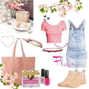 Outfit Pink Picknick von Julia de Nys