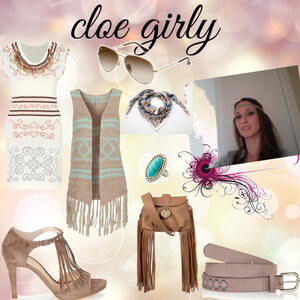 Tenue cloe girly sur Cloe Lamiss