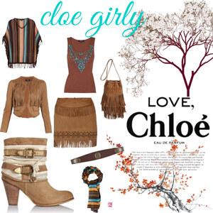 Tenue cloe girly sur Cloe Lamiss