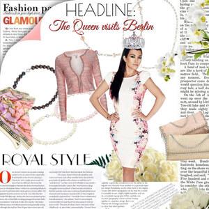 Outfit Dress Up Royal von Lesara