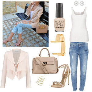 Outfit beige von Claudia Giese