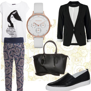 Outfit Lockerer Business-Look von Frabau2509