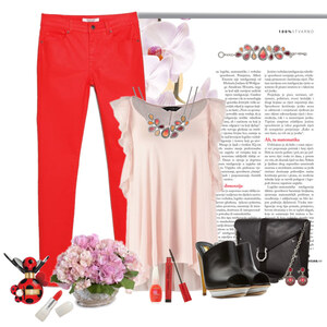 Outfit red von Ania Sz