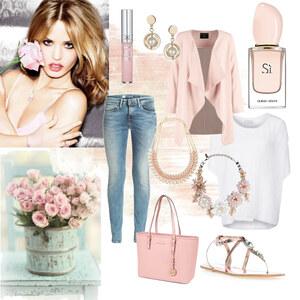 Outfit Rosen für Dich von selinavolk