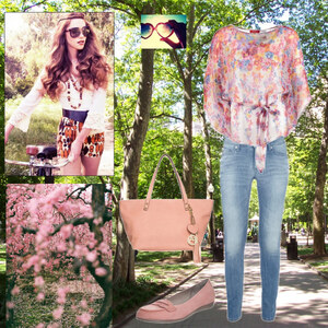 Outfit flowers von Claudia Giese