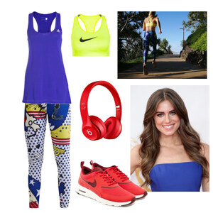 Outfit sporty von Claudia Giese