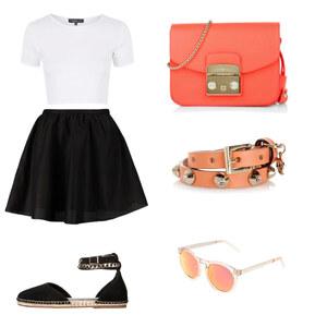 Outfit Summer in Orange von BB Foxy