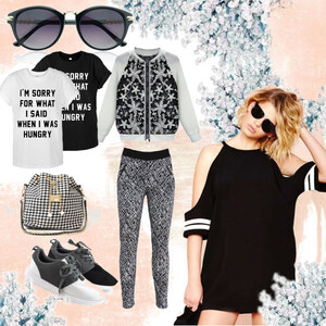 Outfit Casual-Coole Kontraste von Lesara