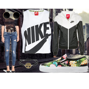 Outfit Sporty Slip Ons Look von Frabau2509