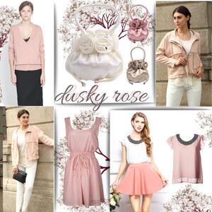 Outfit Dusky Rose - Trendfarbe Altrosa von Lesara