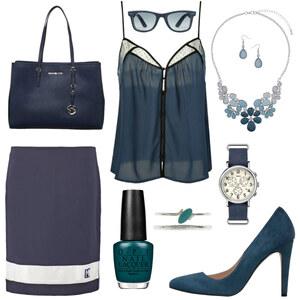 Outfit Blue-Chick von Anneke Geist