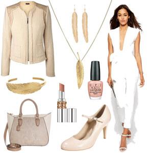 Outfit Beige-White-Chick von Anneke Geist