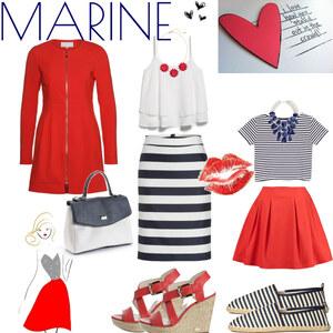 Outfit Marineblau von Julia de Nys
