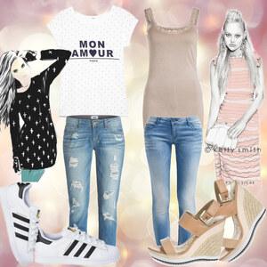 Outfit Sportlich oder Elegant  von CC-Fashion