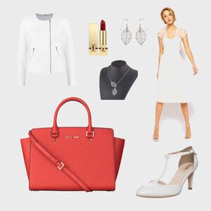 Outfit White-Chick von Anneke Geist