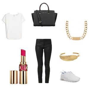 Outfit Black And White von konstantina.martidou
