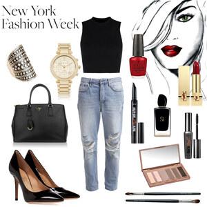 Outfit lässig-elegant von Fabienne